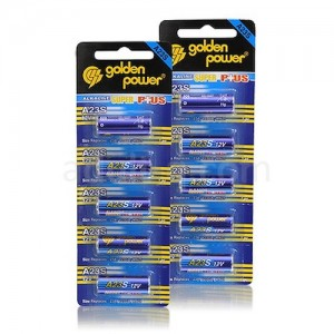 アルカリ12V電池 10本組